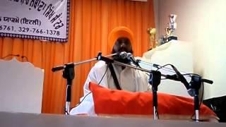 Charitro Pakheyaan katha By Bhai Gurpreet Singh ji California Part 1/4 At Italy