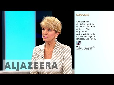 Australian FM wants 'good relations with Middle East'