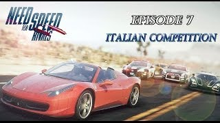 Need for Speed Rivals Episode 7: Italian Competition