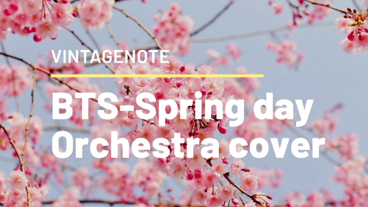 [INST] BTS - SPRING DAY (봄날) ORCHESTRA COVER