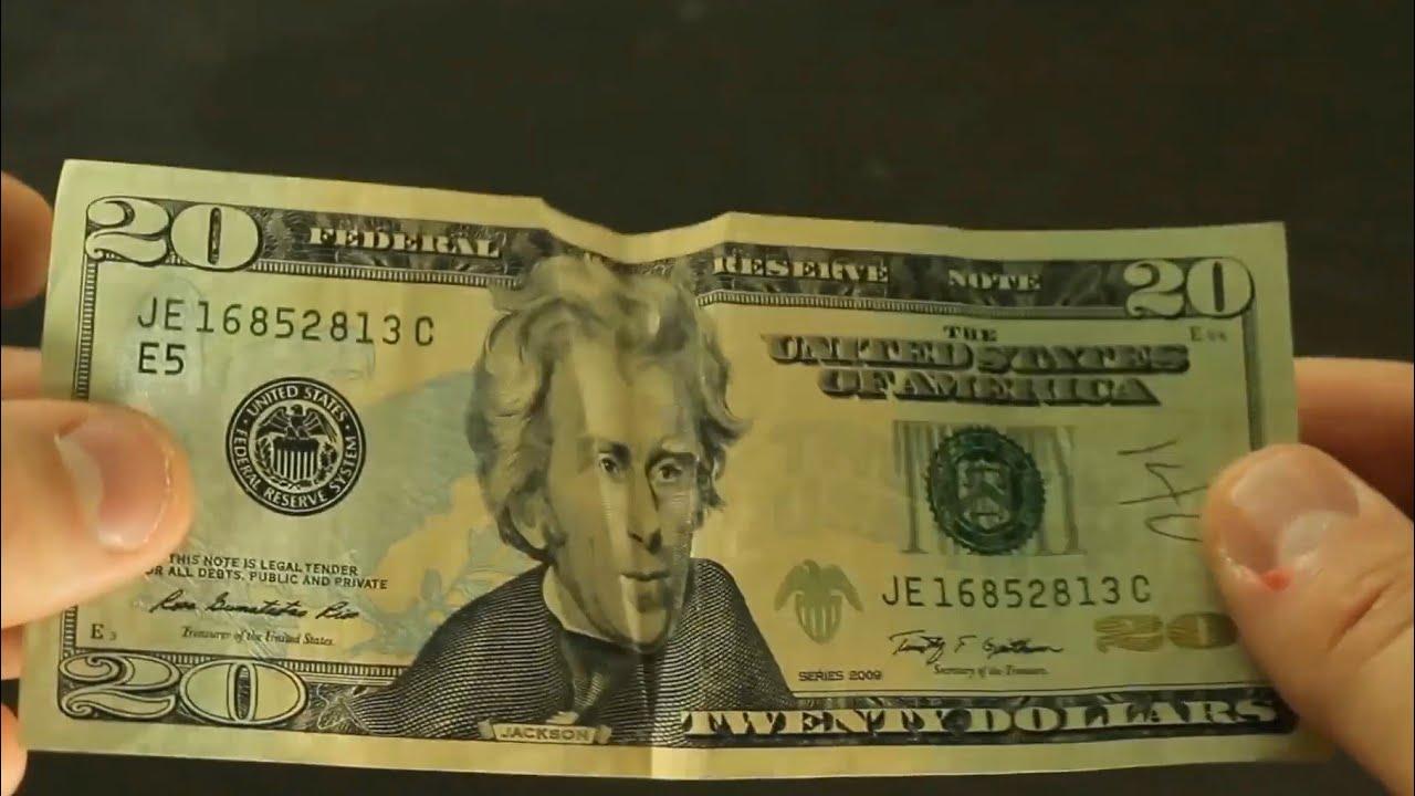 10 Dollar Bill Tricks - Compilation - YouTube: http://www.youtube.com/watch?v=jnY9ojqBAWA