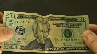 10 Dollar Bill Tricks - Compilation