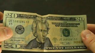 10 Dollar Bill Tricks - Compilation
