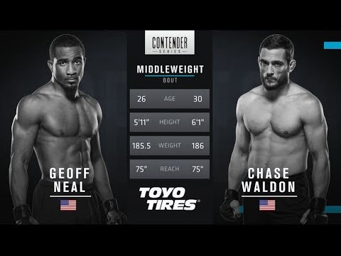 FREE FIGHT | Geoff Neal's Big Left Hand | DWTNCS Week 3 Contract Winner