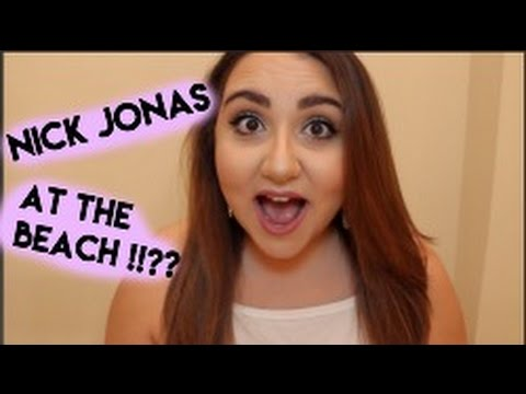 STORYTIME| I Chased Nick Jonas On The Beach