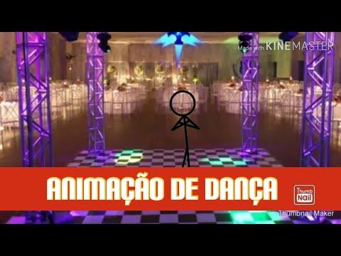 Animação de dança stick fighter