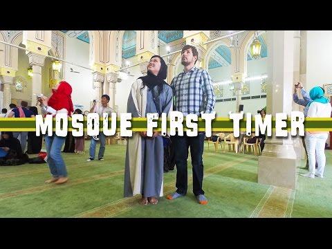 TRAVEL DUBAI VLOG   Inside Jumeirah Mosque 杜拜清真寺 #9