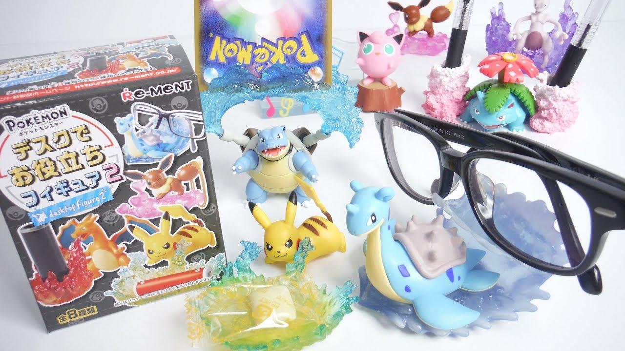 pokemon desktop figure2 全8種 開封 ポケットモンスター デスクでお