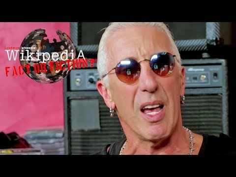 Big Brad - Dee Snider wikipedia Fact or Fiction.....