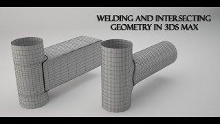 Create Welding on Intersecting Geometry