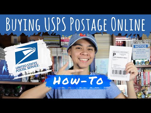 How To Buy USPS Postage Online \u0026 Print Your Own Shipping Labels [Click-N-Ship]