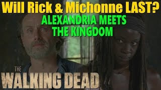 twd season 7 will richonne last alexandria meets the kingdom predictions speculation