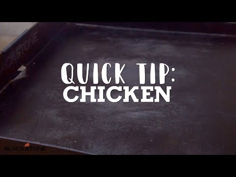 Quick Tip: How To Cook Chicken | Blackstone Griddle
