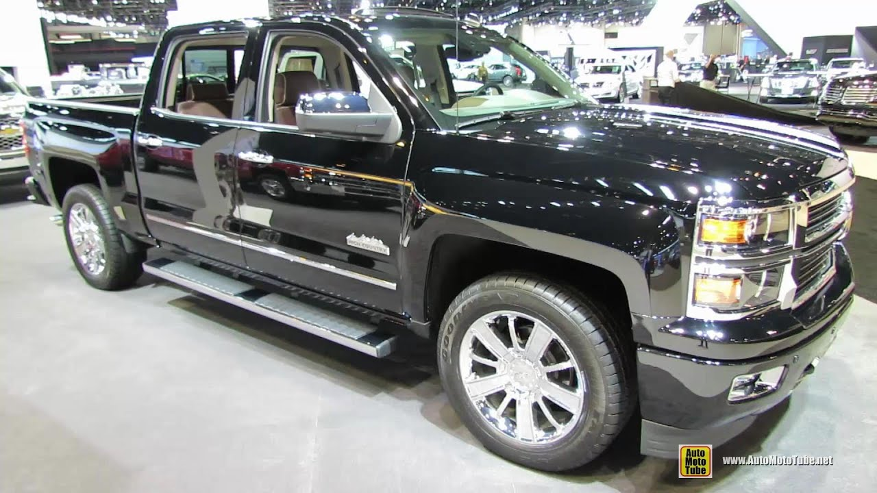 2015 Chevrolet Silverado 1500 High Country Exterior Interior
