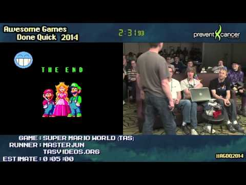 Super Mario World: Arbitrary Code Injection At AGDQ 2014, Performed Live