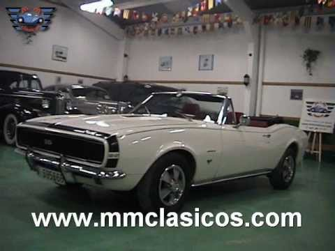 Mm Clasicos Chevrolet Camaro Ss Muscle Car Cabriolet 1967 Youtube