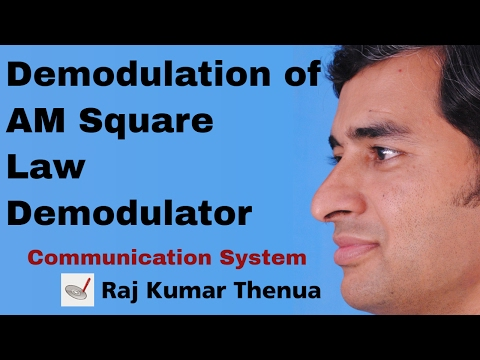 Demodulation of AM Square Law Demodulator - RKTCSu2e02