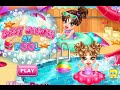 Baby Shower at Pool - Baby Bathing Game for Girls