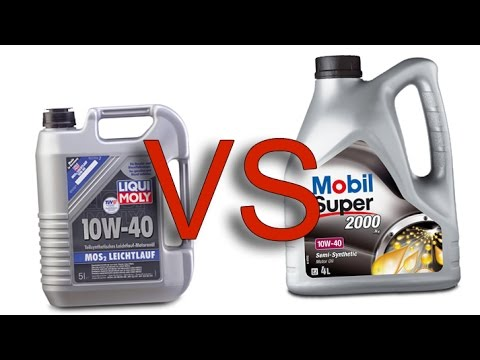 liqui moly mos2 10w40 vs mobil 1 2000 x1 10w40 test youtube. Black Bedroom Furniture Sets. Home Design Ideas