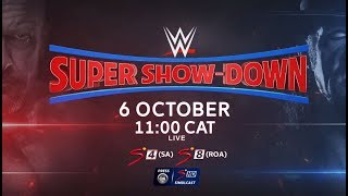WWE Super Show-Down - LIVE on SuperSport