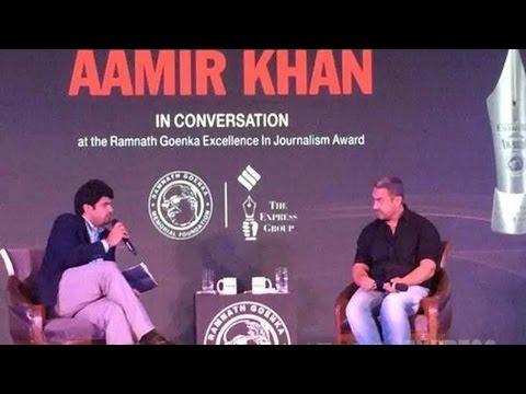 Aamir Khan On Intolerance & Delinking Terrorism From Religion #RNGAwards
