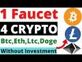 Claim bitcoin Every one minute  No captcha  Faucet claim ...