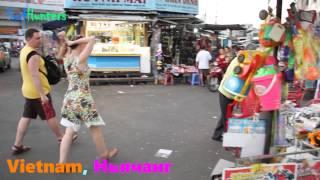Рынок Дан Маркет в Нячанге, Вьетнам