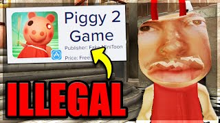 PLAYING ILLEGAL PIGGY GAMES..