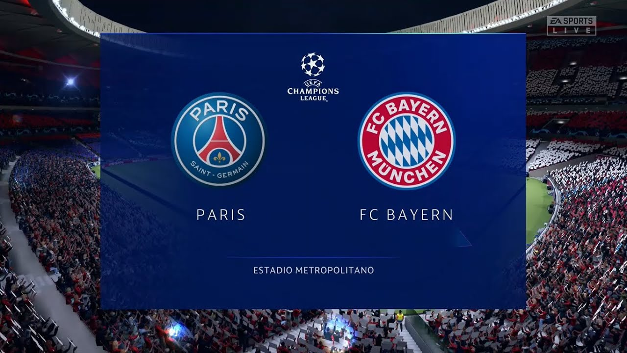 Psg Vs Bayern Munich Champions League Finals 23 08 2020 Fifa 20 Youtube