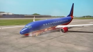 Southwest plane landed nose first in LaGuardia accident, NTSB says