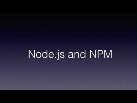 What is Node.js and NPM(Node package manager)?