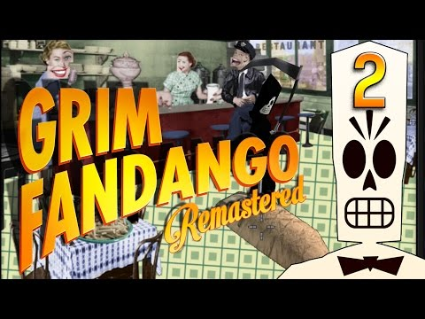Grim Fandango #2 Der unlustige Clown Adventure Classic BLIND HD Remake