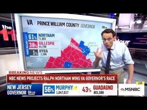 ANTI-TRUMP Sentiment: Democrats Clean Up On Election Night - MSNBC