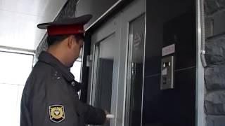 Задержание проститутки в сауне