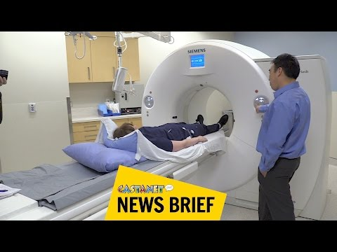 New CT scanner