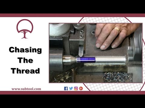 "Chasing a Thread On a Lathe Pt. 4:  Cutting a 1/2"" 13 Thread"