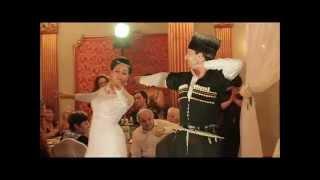 Танец жениха и невесты. Парная лезгинка. Москва. AssaParty Lezginka