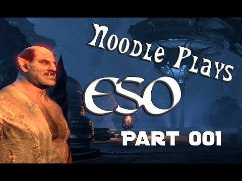 Lets Play ESO 001 - Meeting the Main Man Carl