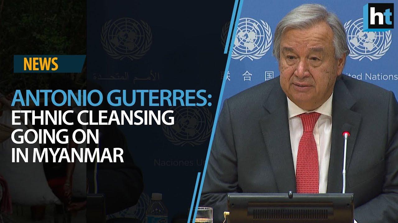 UN Secretary General calls for suspending military action in Myanmar