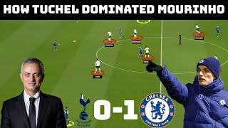 Tactical Analysis: Spurs 0-1 Chelsea |Tuchel's First Tough Test|