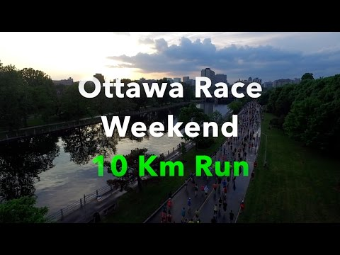 DRONE PHOTOGRAPHY - Ottawa Race Weekend 10k - May 28, 2016 - DJI Phantom