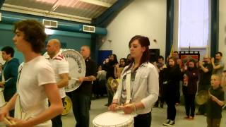 Airdrie Grenadiers  @ Blackridge Thistle Culture Day 23rd March 2013 Part 1