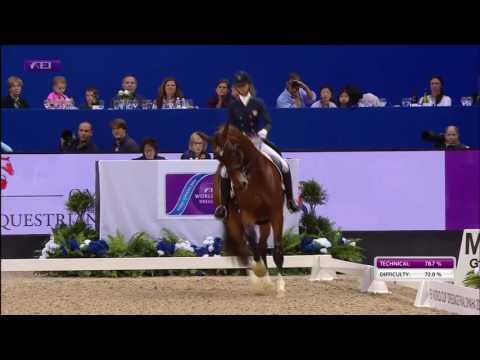 Laura Graves And Verdades FEI World Cup Finals