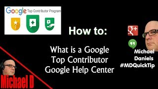 What is a Google Top Contributor thumbnail