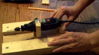 Pt 2 Of 4 How To Build A Router Table For Your Dremel Tool