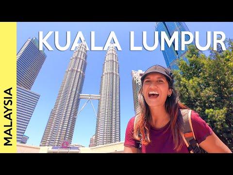 KUALA LUMPUR, MALAYSIA: The Petronas Twin Towers + Suria KLCC | Vlog 1