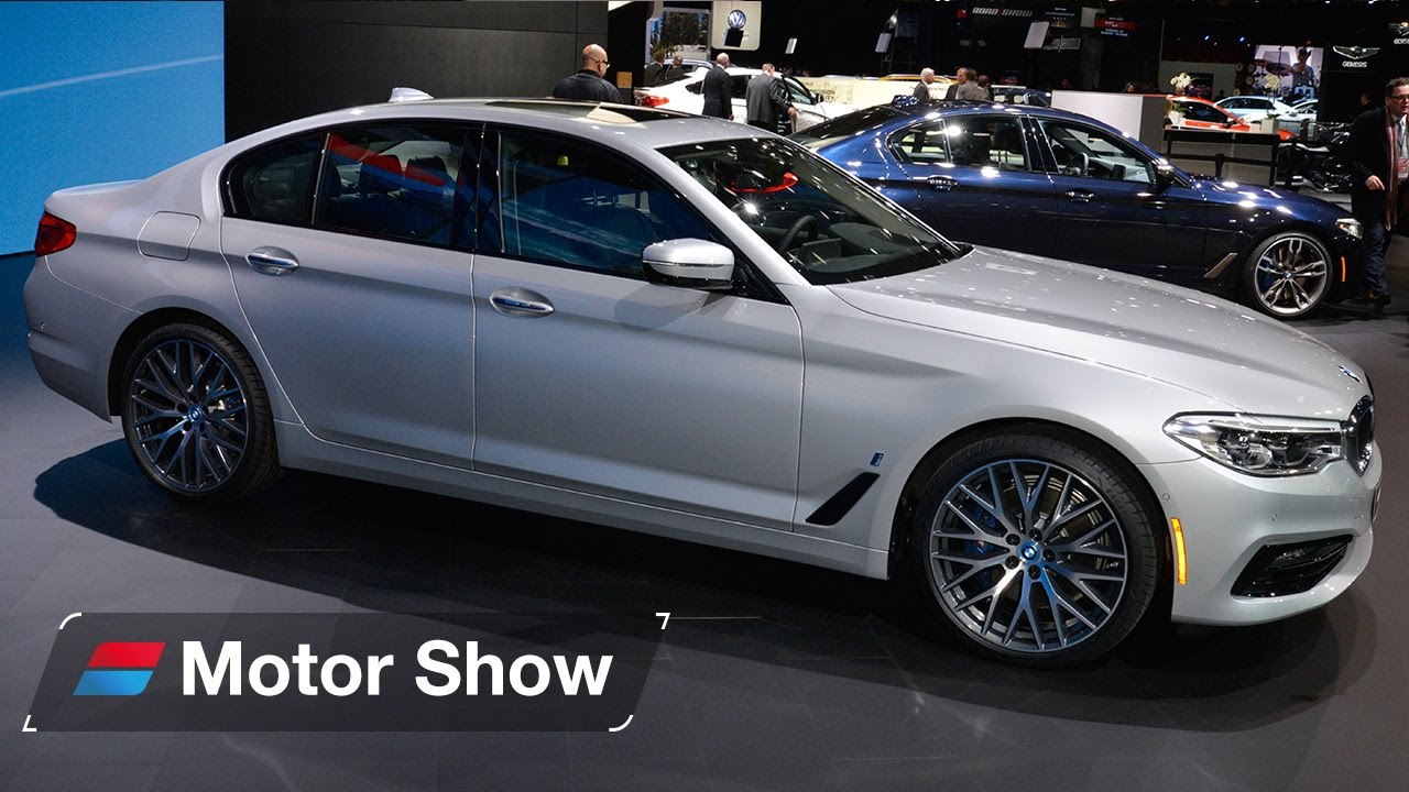2017 Bmw 5 Series 530e Plug In Hybrid First Look At The Detroit Motor Show You