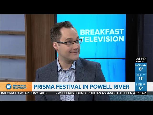 Prisma Festival in Powell River