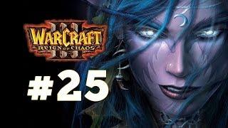Warcraft 3 Господство Хаоса - Часть 25 - Конец вечности - Прохождение кампании Ночные эльфы