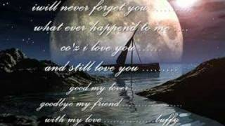 for m best friend and lover sad song